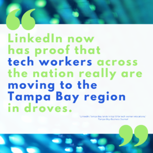 Tech workers are moving to the Tampa Bay region